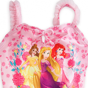 b00ab62976 [SOLD OUT] H1312 ชุดว่ายน้ำเด็ก Disney Princess Deluxe Swimsuit for Girls –  HiKiddy.com