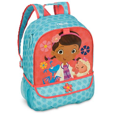 H3116 กระเป๋าเป้ Doc McStuffins Backpack for Kids ของแท้ จาก Disney Store  USA พร้อมส่ง a3561d4557c